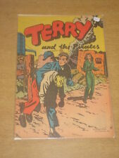 TERRY AMD THE PIRATES #0 FN (6.0) POPPED WHEAT GIVEAWAY DELL COMICS 1938