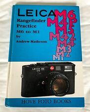 Leica Rangefinder Practice,  M6 to M1,Hardback Book