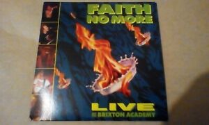 Faith No More Live at Brixton Academy CD (2011, CD in CD sleave (no case))