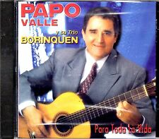 PAPO VALLE Y SU TRIO BORINQUEN - PARA TODA LA VIDA - CD