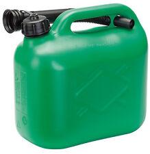Draper 5l plástico combustible puede - Green pfc-green / A 82690
