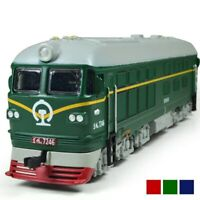 1:87 Alloy Diesel Retro Train Model Toy Railway Combustion Locomotive HO Gauge
