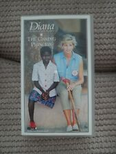 Diana.  The Caring Princess  VHS