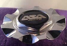 ASA Chrome Custom wheel Center Cap (SET OF 1)  P/N # em7, 8b.613