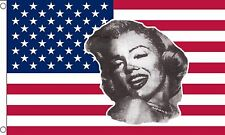USA MARILYN MONROE 5x3 feet FLAG 150cm x 90cm flags AMERICA AMERICAN