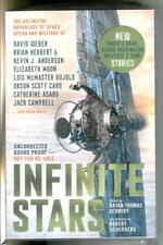 INFINATE STARS by Schmidt, Titan ARC advance copy sci-fi space opera trade pb