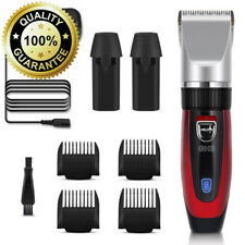 GHB Hair Clipper Rechargeable Trimmer Electric Cordless Haircut Kit Ceramic...