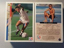 1994 Upper Deck World Cup English/Spanish Contenders Cobi Jones Promo Card  PR2