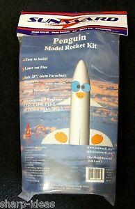 Penguin Model Rocket Kit By Sunward - NEW