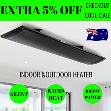 Heater Wall & Ceiling Mount Radiant Panel Heater Electric 1800w Indoor & Outdoor