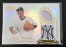 2012 Topps Tribute Jorge Posada Jersey 17/99 CM-JP New York Yankees
