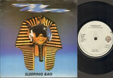 "ZZ TOP Sleeping Bag  7"" Ps, B/W Party On The Patio, W2001 (Vg/Ex)"