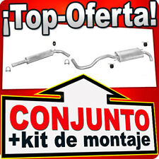 Seat Ibiza 1.9 TDi 110HP 6K Sistema de Silenciador Escape 396