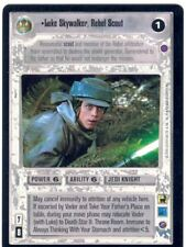Star Wars CCG Reflections II Ex. Uni. Premium Luke Skywalker Rebel Scout
