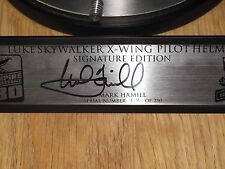 Star Wars EFX Luke Skywalker X-Wing Helmet SIGNED Mark Hamill Signature Edition