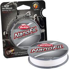 Berkley NanoFil Uni-Filament Fishing Line (150 yds) - Clear Mist