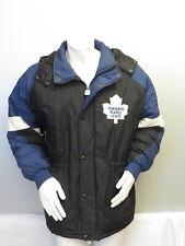 Vintage Toronto Maple Leafs Puffy Parka / Jacket by Chalkline - Men's Medium