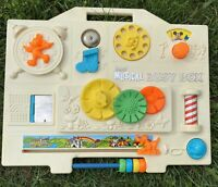 Gabriel Musical Busy Box Disney Baby Toy Activity Crib Toy Vintage 1977 70s