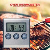Food Meat Oven BBQ Thermometer Digital Wireless Remote Probe Cooking Set