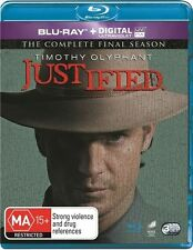 Justified : Season 6 - The Complete Final Series = NEW Blu-Ray