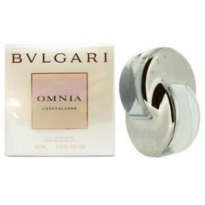 Bvlgari Omnia Crystalline Eau de Toilette 65ml EDT Spray Authentic New Boxed