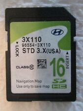 2014 Hyundai ELANTRA Navigation SD Card Map OEM 96554-3X110 16GB GPS MAPS CHIP