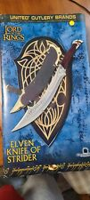 Elven Knife of Strider The Lord of the Rings United Cutlery Brands in Box