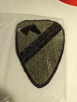 Collectible U S Army Patch - 1st Cav. Div. Subdued Sew On Patch Used Historical