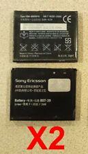 Lot Of 2 Bst-39 for Sony Ericsson Battery for W910i Tm717 W380 W518a Z555 W908c