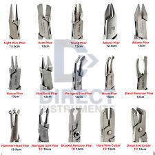 Medentra Professional Dental Pliers Orthodontic Braces Wire Bending Loop Forming