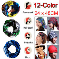 Lots Magic Head Face Mask Snood Neck Tube Outdoor Wrap Shawl Scarf Headwear