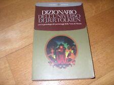 DIZIONARIO DELL'UNIVERSO DI J. R. R. TOLKIEN Prima edizione