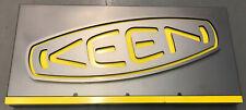 Keen Slip-Resistant Work Shoes & Boots Footwear Metal Sign