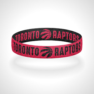 Reversible Toronto Raptors Bracelet Wristband We The North
