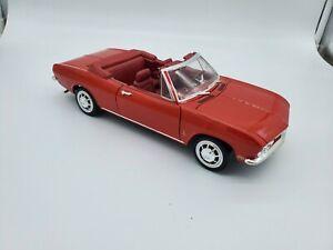 Road Signature 1:18 1969 CORVAIR MONZA RED Diecast Model Car