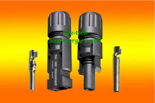 2 Paar MC4 Stecker + Buchse Original Multi Contact 4-6mm²