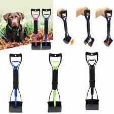 US Pet Dog Pooper Scooper Clean Pick Up Shovel Handle Easy Poop Scoop Removal