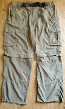 Bsa Switchback Unform Zipper Pants/Convertible Shorts Ladies Large Nylon