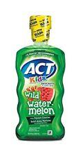 ACT Kids Anticavity Fluoride Mouthwash Rinse, Wild Watermelon, 16.9 Ounces