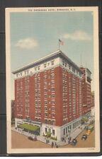 Hotel Onondaga Hotel, Syracuse NY.  Vintage Postcard.