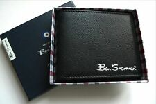 Ben Sherman Leather Wallet Clayton Design Bifold Coin Pocket Delivery