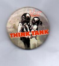 BLUR Think Tank BUTTON BADGE ENGLISH INDIE ROCK BAND - DAMON ALBARN 90s 25mm PIN