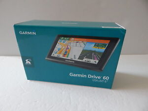 Garmin Drive60LMT 6 Inch GPS Navigation W/ Lifetime Maps & Traffic