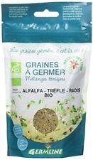 Germ'line Graines Alfalfa Trèfle Radis À germer 150 G