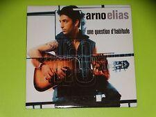 CD SINGLE - ARNO ELIAS - UNE QUESTION D'HABITUDE - 2001