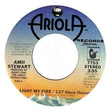 "Amii Stewart - Light My Fire  - 7"" Record Single"