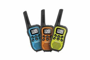 UNIDEN UH45-3 80 Channel UHF CB Handheld WALKIE-TALKIE with Kid Zone – Triple C