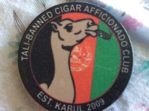 poker Chip sized  Afghanistan war souvenir