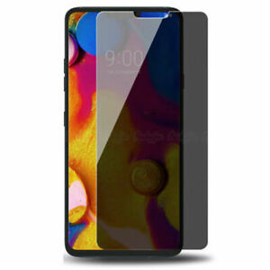 For LG Q7 G7 G8 ThinQ G4 style Privacy Tempered Glass Anti-Spy Screen Glass Film
