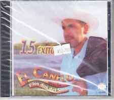 EL CANELO DE SINALOA Y LOS DOS DEL SITIO CD Nuevo Sealed 15 EXITOS